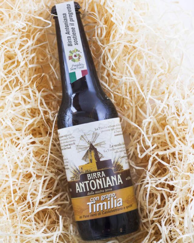 Birra Antoniana con grano Timilia