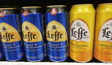 Leffe Ritual e Triple Blonde in formato 44 cl. per non esagerare con l'alcool!