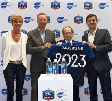 Smartwater diventa acqua ufficiale della Nazionale campione del mondo