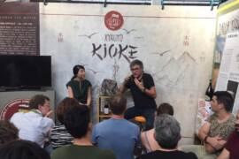 Teo Musso del birrificio Baladin presenta Xyauyù Kioke 2016 al Salone del Gusto