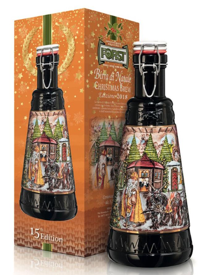 Firmata Limited Edition Forst Natale Birra Pregiata Birra Di Natale Limitata Bottiglia Birra Forst