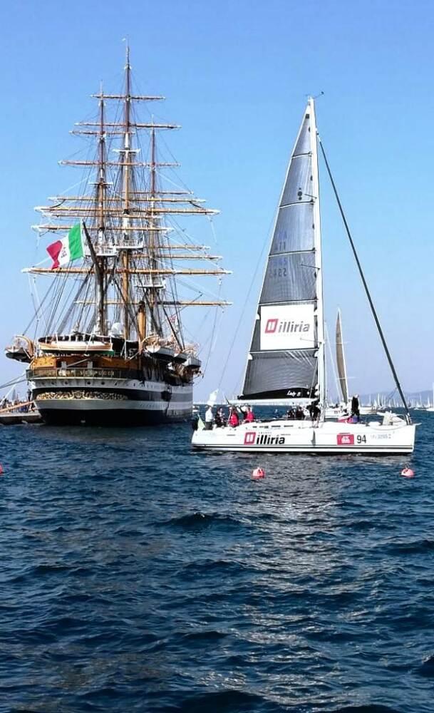 Classifica Nespresso Barcolana Imbarcazioni Gruppo Illiria Caffè E Sport Illiria