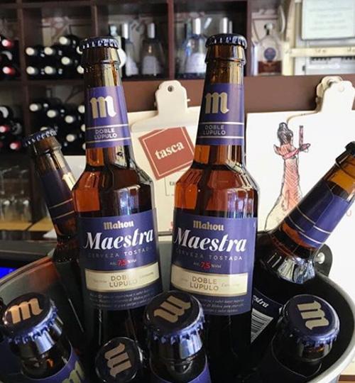 Mercato Italiano Mahou Birre Spagna Maestra Para Evento San Miguel Tasca Lancio Prodotti Premium Milano Doppio Luppolo Maestros