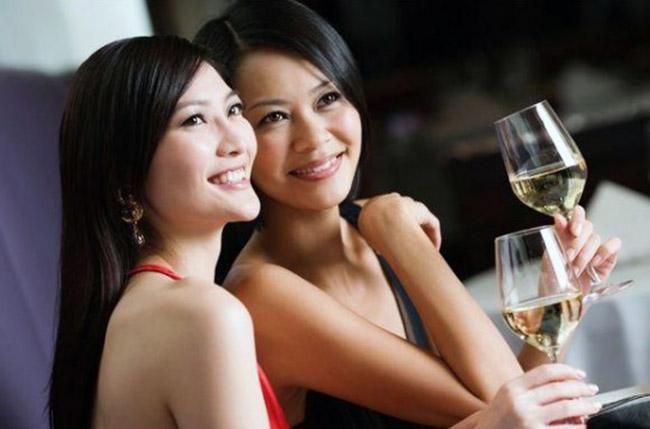 Vini Giovani Piacciono Donne Consumo Vino Valpolicella Cina