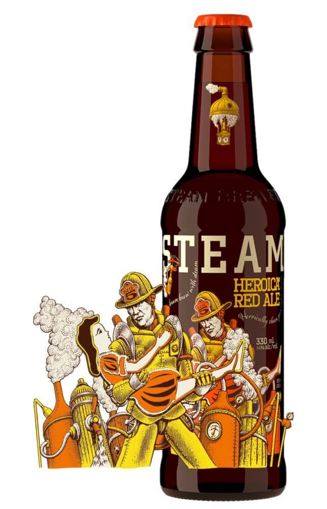 British Canada Beer Steamworks Red Ale Brewrise British Columbia Beer Awards Trionfo Awards Premi E Riconoscimenti Birra Columbia