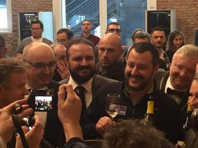 Matteo Salvini a Vivite