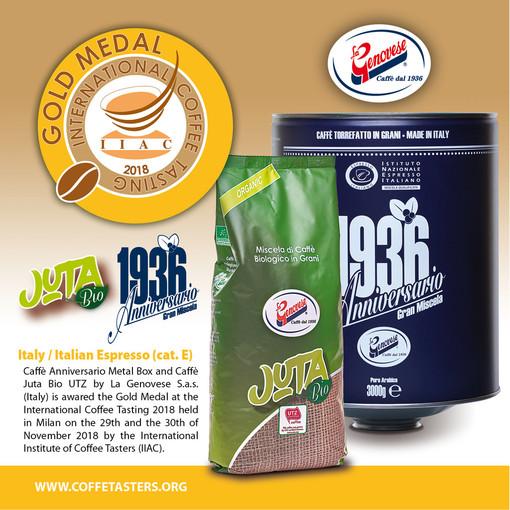 Doppio Premi E Riconoscimenti Caffè Albenga Genovese Caffè International Coffee Tasting La Genovese Istituto Internazionale Assaggiatori Caffè Iiac