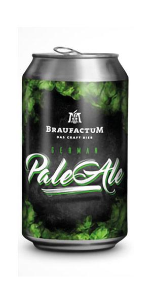 BRAUFACTUM GERMAN PALE ALE Logo/Marchio