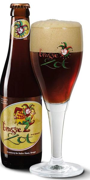 BRUGSE ZOT DUBBEL Logo/Marchio