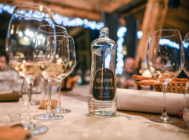 Acqua Calizzano Eccellenza Partnership Calizzano Gourmet Montagna Stelle Michelin Minerale Chef Acqua