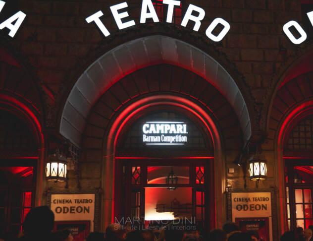 Il teatro Odeon, palcoscenico della Competition