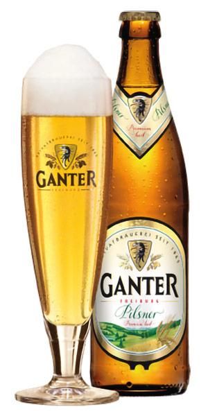 GANTER PILSNER Logo/Marchio