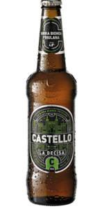 BIRRA CASTELLO LA DECISA - Birra confezione