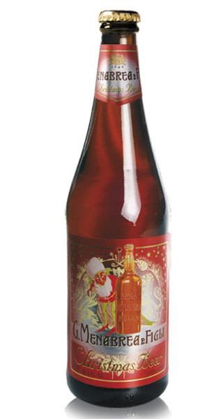 MENABREA CHRISTMAS BEER Logo/Marchio