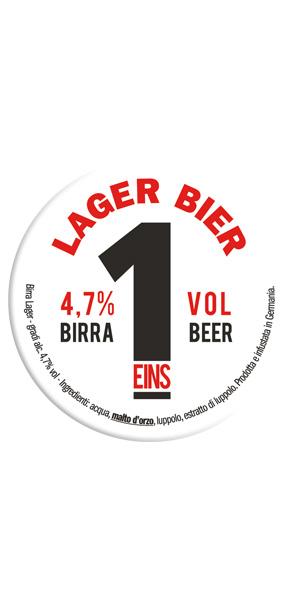 EINS BIRRA LAGER Logo/Marchio