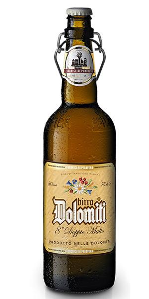 BIRRA DOLOMITI 8° DOPPIO MALTO Logo/Marchio