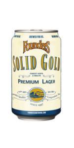 FOUNDERS SOLID GOLD - Birra confezione