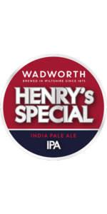 Birre WADWORTH HENRY'S SPECIAL IPA confezione