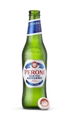 Peroni conquista i francesi con la nuova bottiglia dallo stile innovativo