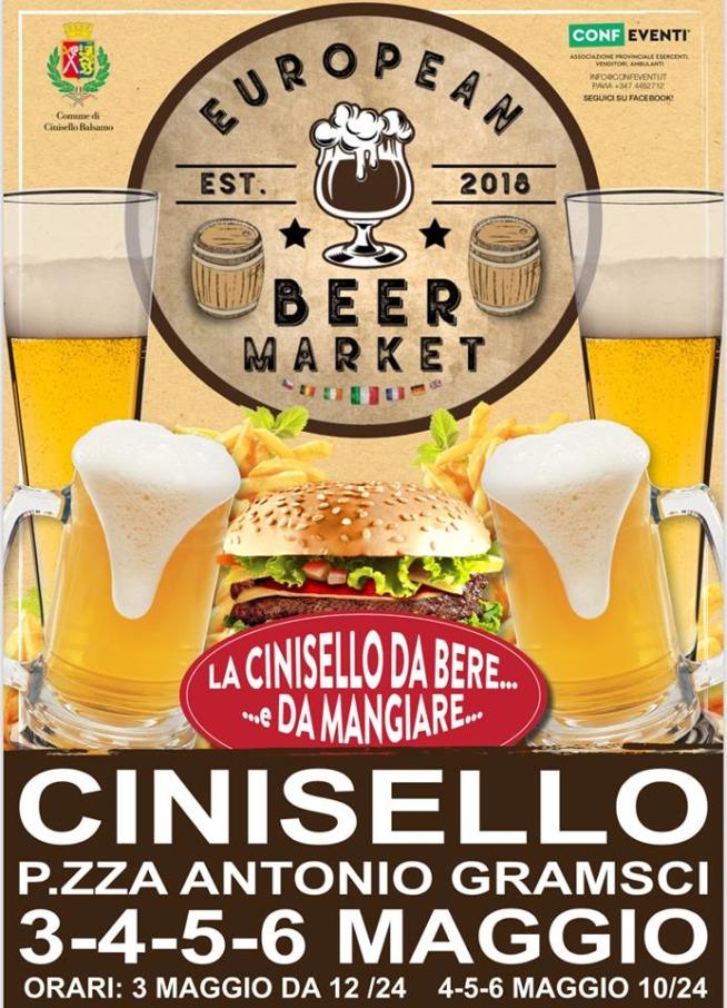 Eventi Birre Cinisello Tutt Beer Street Food Birra Artigianale Europa European Beer Market Giorni Quattro Birre Festival Birre Market Europan