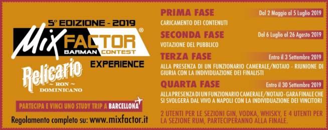 MixFactor Relicario Experience V Edizione
