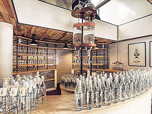Enoberg, SMI Group: il bar che serve acqua piovana