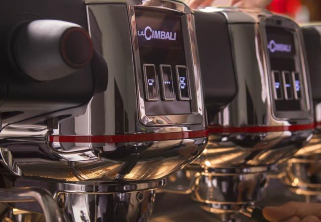 La Cimbali M100 Attiva_ nuova interfaccia tasti e OLED