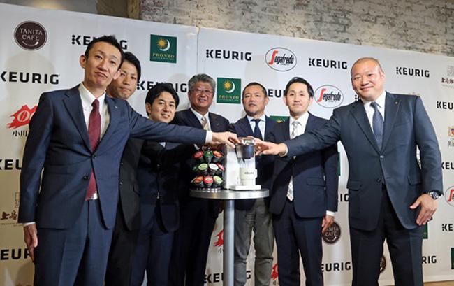 Keurg Sistema Segafredo Zanetti Capsule Caffè Giapponese Unicafe Massimo Zanetti Beverage Group Sceglie Segafredo Unicafè