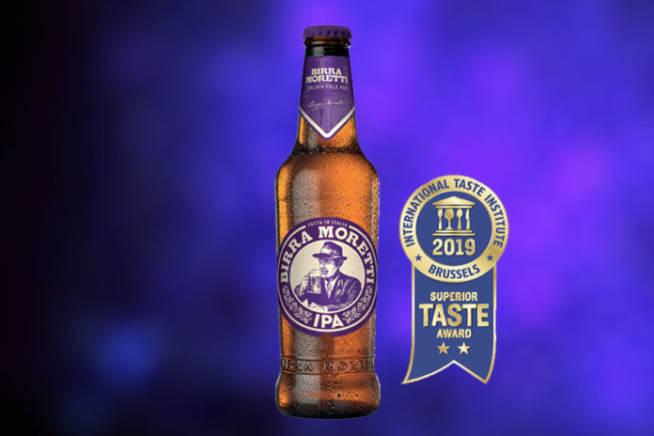 Italian Superior Pale Premi E Riconoscimenti Birra Birra Moretti Superior Taste Award Award Taste India Pale Ale - Ipa Birra Moretti Degustazione Birra Ipa
