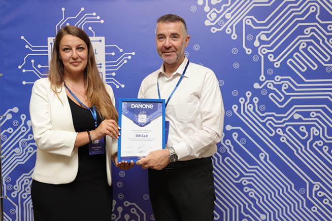 Danone Sviluppi Presentare Smi Group Tecnologici Mosca Innovazione Innodays