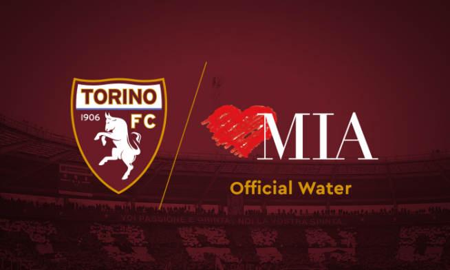 Official Water - Acqua Ufficiale Acqua Acqua Mia Stagione Sponsorizzazioni Sportive Partnership Torino Fonti Di Vinadio Rinnnovano