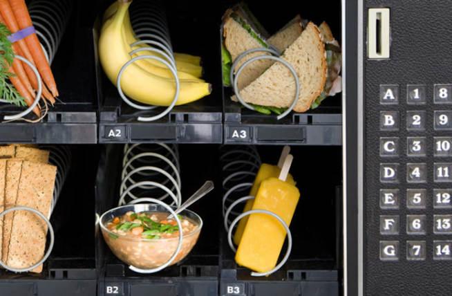 Machine Automatico Vending Cibo Vending Machine Analisi Del Vending Vending - Distribuzione Automatica