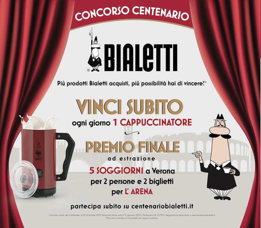 100 Anni Di Bialetti In Palio Fantastici Premi Con Il