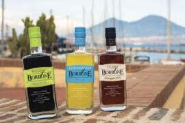 Gamma liquori Borbone: Amaro 10 maggio 1734, il Limoncello di Procida e la Rucola Amaro Nobile