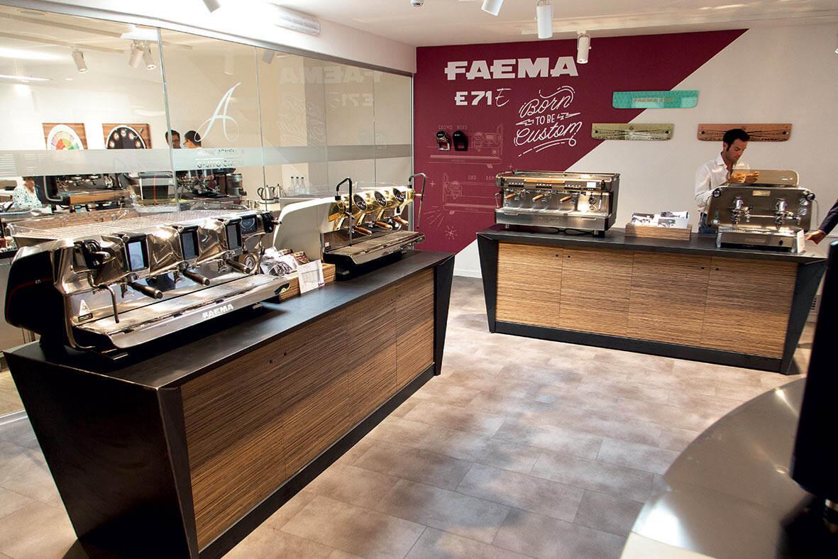 Nuova filiale GC Roma_3_area showroom Faema