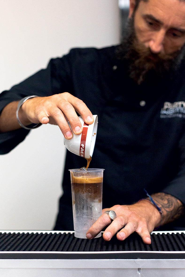 Nuova filiale GC Roma_5_attività di coffee experience nello Spazio Mumac academy della nuova Filiale di Roma