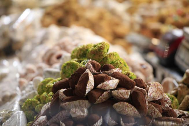 Dolci al pistacchio e al cioccolato Sicilia