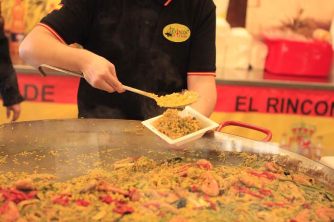 Paella spagnola all'Artigiano in Fiera