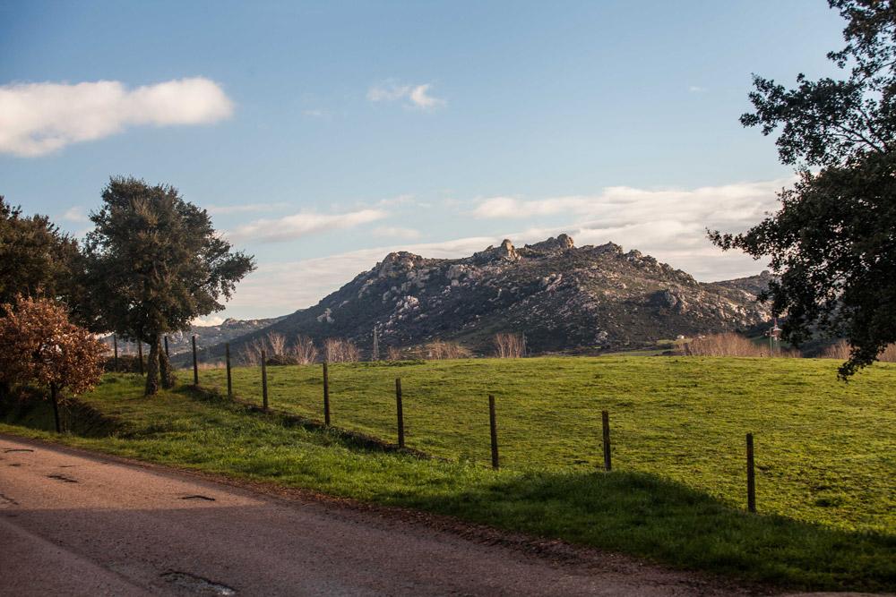 Scorcio del Monti di Deu, Tempio Pausania, la sorgente di acqua Smeraldina