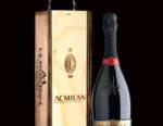 AC Milan: si stappa la prima bottiglia  di Franciacorta RossoNero Anniversario