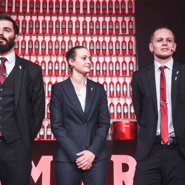 La presentazione dei tre finalisti