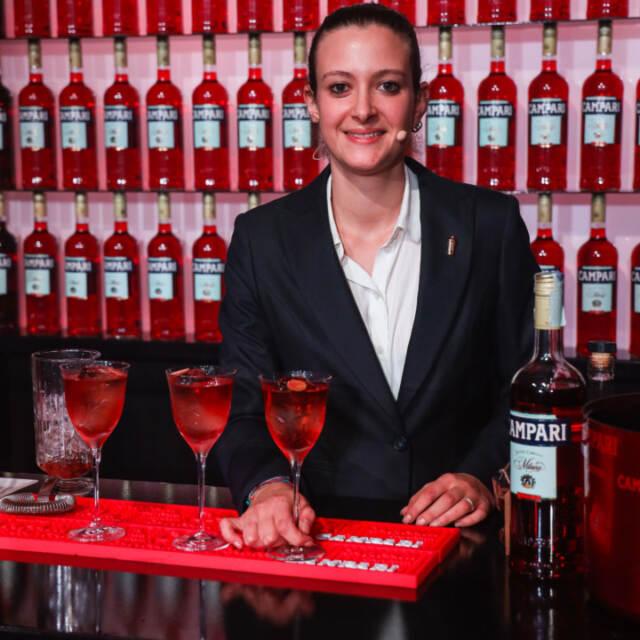 Martina Proietti e il suo cocktail