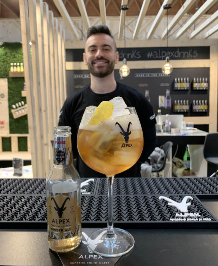 Bartender Claudio Samà
