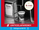 Emergenza Coronavirus: Caffè Kamo supporta il personale sanitario di Napoli