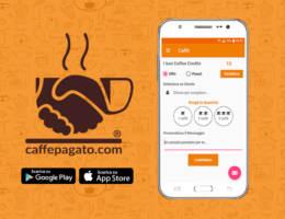 Caffè Pagato, l'app che offre il caffè