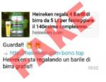 Coronavirus, Heineken vittima di una truffa online