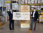 Warsteiner Italia sostiene Banco Alimentare con una donazione equivalente a 200.000 pasti