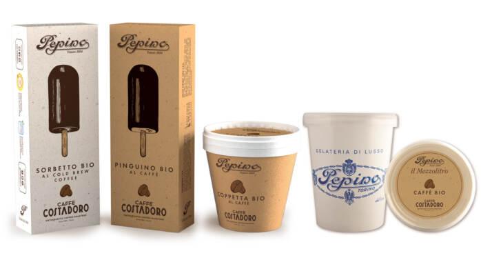 La nuova linea bio e equosolidale di gelato al caffè PEPINO - COSTADORO