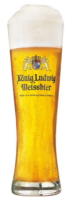 KÖNIG LUDWIG WEISSBIER HELL Logo/Marchio