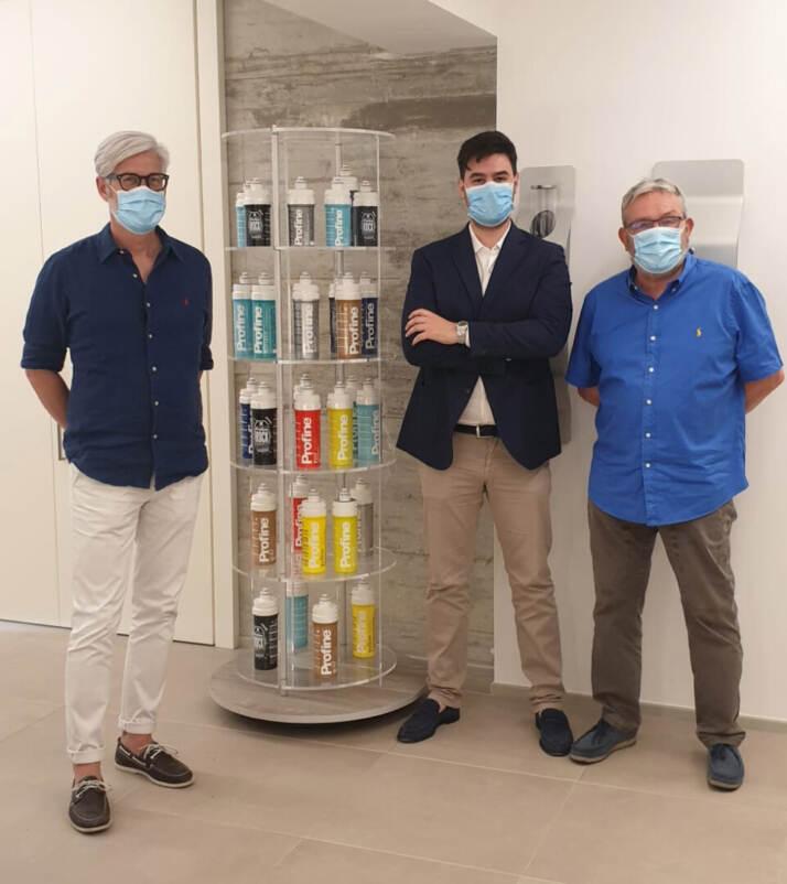 Da sinistra Franco Carlotto, Gabriele Balugani, Stefano Piccinini